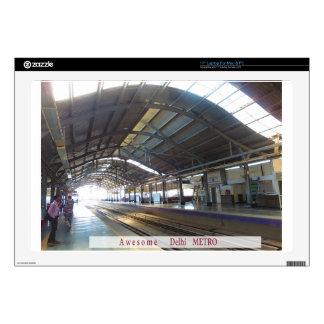 "Landmark Landscapes AWESOME DELHI METRO Railway Decal For 17"" Laptop"