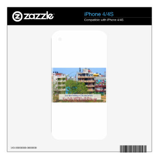Landmark Landscapes AWESOME DELHI METRO Railway Decal For iPhone 4