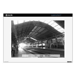 "Landmark Landscapes AWESOME DELHI METRO Railway Decals For 15"" Laptops"