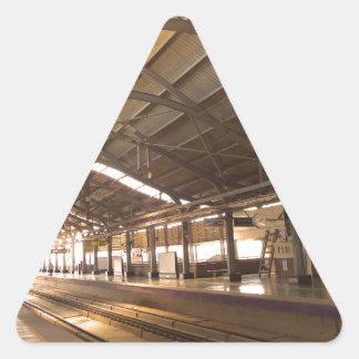 Landmark Landscapes AWESOME DELHI METRO Railway Triangle Sticker