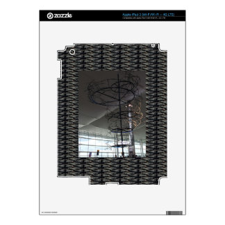 Landmark Photography  Heathrow airport London UK iPad 3 Skin