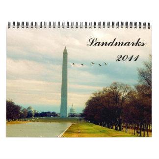 landmarks 2011 calendar