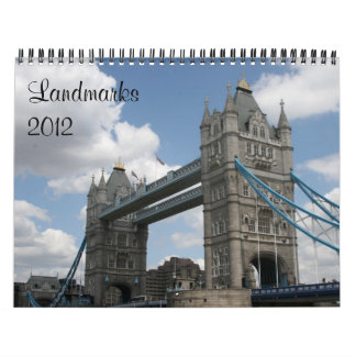 landmarks 2012 calendar