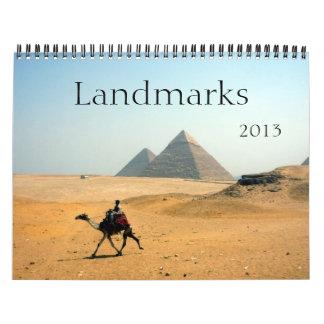 landmarks 2013 calendar