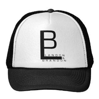 Landon And Brandon Logo Hat