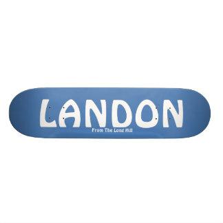 LANDON, From The Long Hill Skateboard