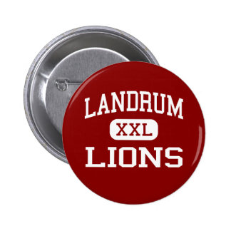 Landrum - Lions - Junior - Houston Texas Pinback Button