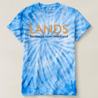 LANDS cyclone tie dye tee