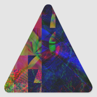Lands Edge Triangle Sticker