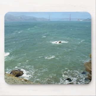 Land's End and Golden Gate Waterway Mousepad