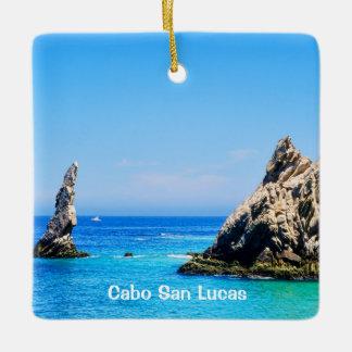 Lands End, Cabo San Lucas Ceramic Ornament