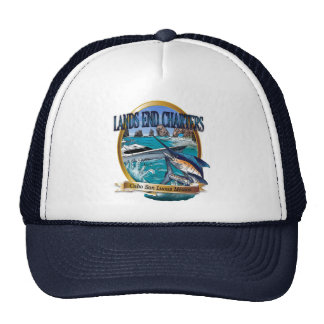 lands end charters trucker hat