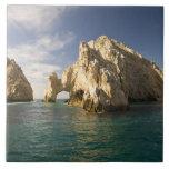 Land's End, el arco cerca de Cabo San Lucas, Baja Azulejo Cuadrado Grande