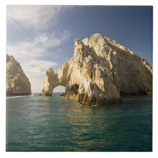 Land's End, The Arch near Cabo San Lucas, Baja Ceramic Tile