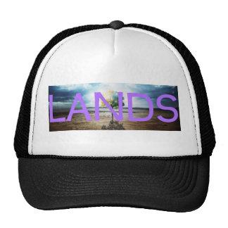 LANDS promo banner Trucker Hat (purp)