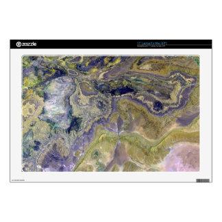 Landsat 7 Atlas Mountains Laptop Decal
