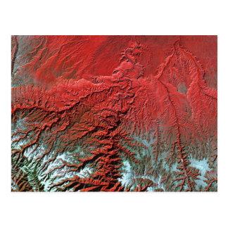 Landsat 7 Desolation Canyon Postcard