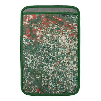 Landsat 7 Garden City Kansas MacBook Air Sleeve