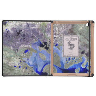 Landsat 7 Lake Carnegie iPad Folio Cases