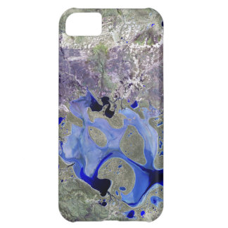 Landsat 7 Lake Carnegie iPhone 5C Covers