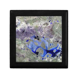 Landsat 7 Lake Carnegie Gift Boxes