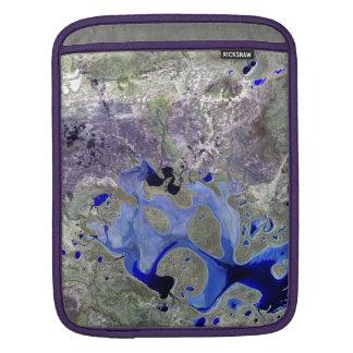 Landsat 7 Lake Carnegie Sleeve For iPads