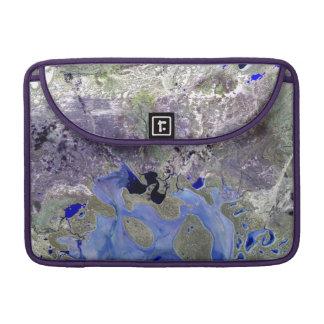 Landsat 7 Lake Carnegie MacBook Pro Sleeve