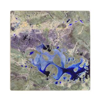 Landsat 7 Lake Carnegie Wood Coaster