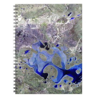 Landsat 7 Lake Carnegie Spiral Notebooks