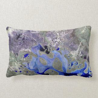 Landsat 7 Lake Carnegie Pillows