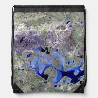 Landsat 7 Lake Carnegie Backpack
