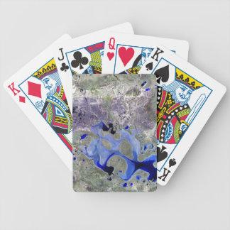 Landsat 7 Lake Carnegie Card Deck