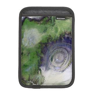Landsat 7 Richat Structure iPad Mini Sleeves