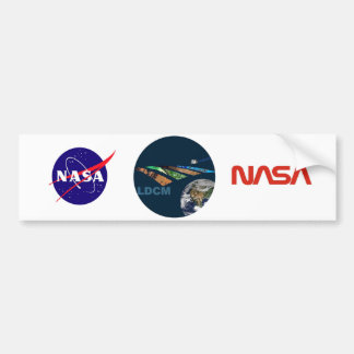 Landsat Data Continuity Mission Program Logo Bumper Sticker