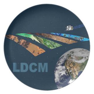 Landsat Data Continuity Mission Program Logo Melamine Plate
