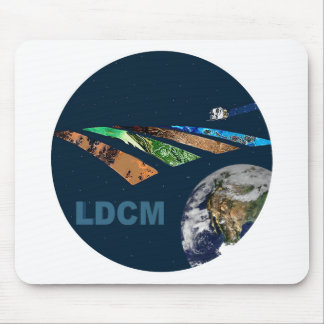 Landsat Data Continuity Mission Program Logo Mouse Pad