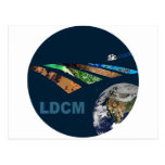 Landsat Data Continuity Mission Program Logo Postcard