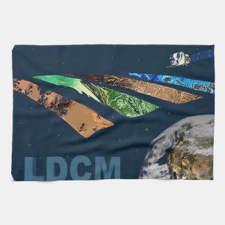 Landsat Data Continuity Mission Program Logo Towel