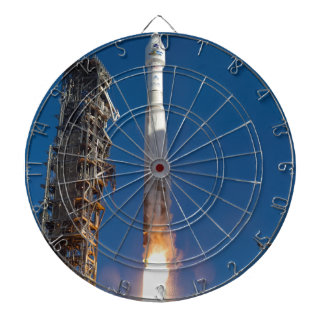 Landsat Spacecraft Launch Dartboards