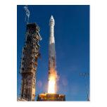 Landsat Spacecraft Launch Post Card