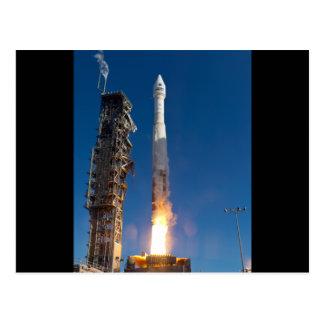 Landsat Spacecraft Launch Post Cards
