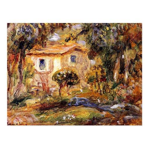 Landscape1 by Pierre Renoir Postcards