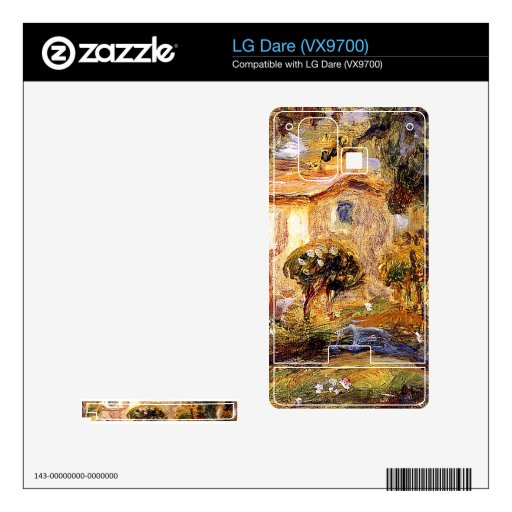 Landscape1 by Pierre Renoir Skins For LG Dare