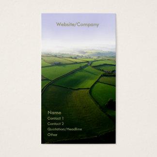Landscape 001 business card