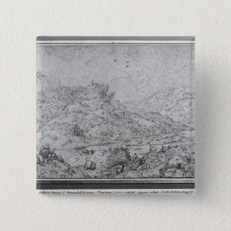 Landscape, 1553 pinback button