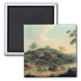 Landscape, 1758 2 inch square magnet