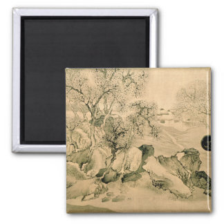 Landscape, 1771 2 inch square magnet