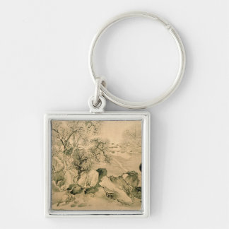 Landscape, 1771 keychain