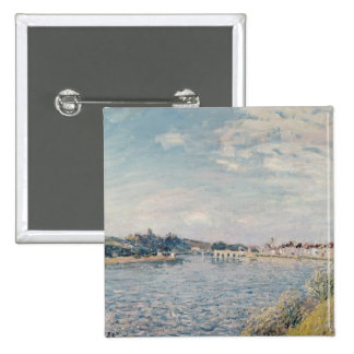 Landscape, 1888 2 inch square button