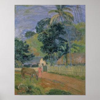 Landscape, 1899 poster